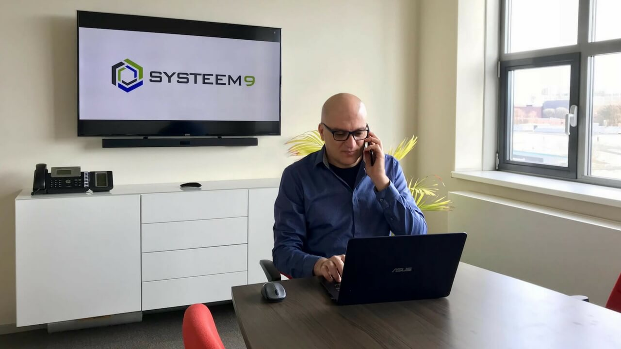 Tamer Systeem9 VoIP cloud diensten internet hardware